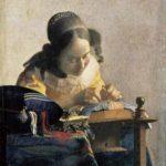 「レースを編む女」ー フェルメール