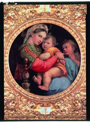 「椅子の聖母」ー ラファエロ・サンティ
