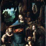 「岩窟の聖母」  レオナルド・ダ・ヴィンチ