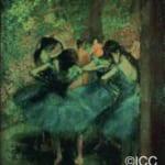 「青い踊り子たち」  エドガー・ドガ