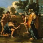 「アルカディアの牧人」  ニコラ・プーサン