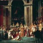 「ナポレオンの戴冠式」  ジャック・ルイ・ダヴィッド