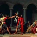 「ホラティウス兄弟の誓い」  ジャック・ルイ・ダヴィッド