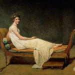 「レカミエ夫人の肖像」  ジャック・ルイ・ダヴィッド
