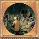 「トルコ風呂」  ドミニック・アングル