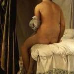 「バルパンソンの浴女」  ドミニック・アングル