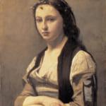 「真珠の女」  ジャン=バティスト=カミーユ・コロー