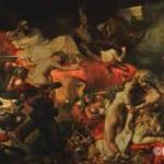 「サルダナパールの死」  ドラクロワ (ウジェーヌ・ドラクロワ)