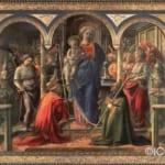 「聖母子と天使と聖人たち」  フィリッポ・リッピ