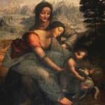 「聖アンナと聖母子」  レオナルド・ダ・ヴィンチ