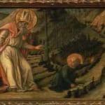「聖アウグスティヌスの幻想」  フィリッポ・リッピ