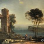 「アポロとクマエの巫女のいるバイの港」  クロード・ロラン