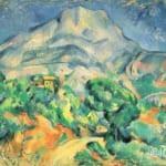 「サント=ヴィクトワール山」  ポール・セザンヌ