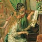 「ピアノを弾く少女たち」  ルノワール (オーギュスト・ルノワール)
