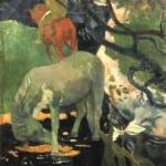 「白い馬」  ポール・ゴーガン