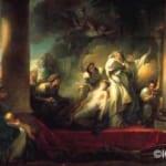 「大司祭コレシュスの犠牲」  ジャン・オノレ・フラゴナール