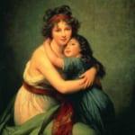 「画家とその娘」  エリザベート=ルイーズ・ヴィジェ=ルブラン