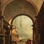 「街の眺め」  フランチェスコ・グアルディ