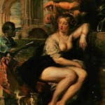 「バテシバの沐浴」  ピーテル・パウル・ルーベンス
