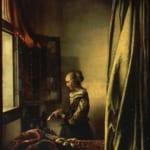 「手紙を読む婦人」 ヤン・フェルメール