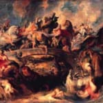 「アマゾンの戦い」  ピーテル・パウル・ルーベンス