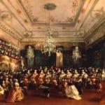 「ヴェネツィアの祝賀演奏会」  フランチェスコ・グアルディ