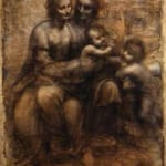「聖アンナと洗礼者ヨハネを伴う聖母子」 レオナルド・ダ・ヴィンチ