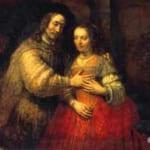 「ユダヤの花嫁」  レンブラント・ファン・レイン