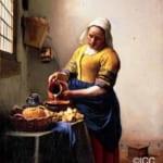 「牛乳を注ぐ女」 ヤン・フェルメール