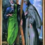 「聖アンドレアと聖フランシスコ」 エル・グレコ