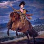 「皇太子バルタザール・カルロス騎馬像」 ディエゴ・ベラスケス