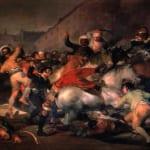 「マドリード、1808年5月2日」 フランシスコ・デ・ゴヤ・イ・ルシエンテス