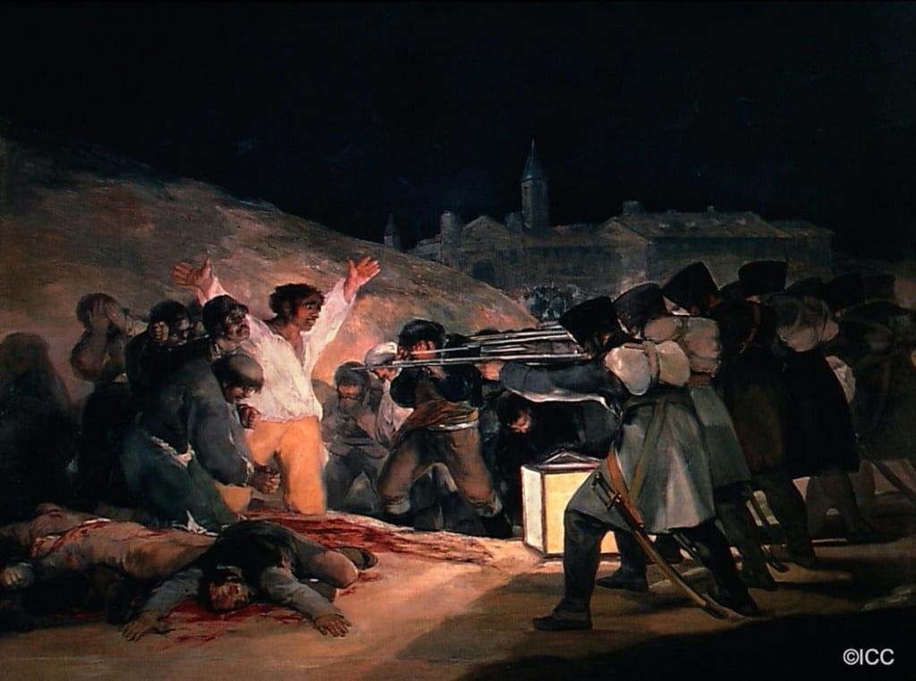 「マドリード、1808年5月3日」 フランシスコ・デ・ゴヤ・イ・ルシエンテス