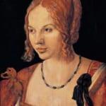 「ヴェネツィア婦人の肖像」 アルブレヒト・デューラー