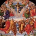 「ランダウアー祭壇画:聖三位一体の礼拝」 アルブレヒト・デューラー