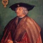「皇帝マクシミリアン一世」 アルブレヒト・デューラー