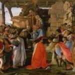 「東方三博士の礼拝」 サンドロ・ボッティチェッリ