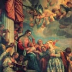 「聖カテリナの神秘の結婚」 パオロ・ヴェロネーゼ
