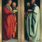 「四人の使徒」 アルブレヒト・デューラー