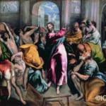 「神殿から商人を追い出すキリスト」 エル・グレコ