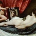 「鏡をみるヴィーナス」 ディエゴ・ベラスケス