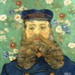 「ジョゼフ・ルーランの肖像」 フィンセント・ファン・ゴッホ