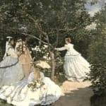 「庭の女たち」 クロード・モネ