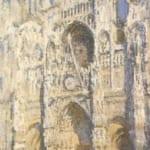 「ルーアンの大聖堂―明るい陽光、青と金のハーモニー」 クロード・モネ