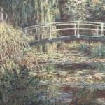 「睡蓮の池、バラ色のハーモニー」 クロード・モネ