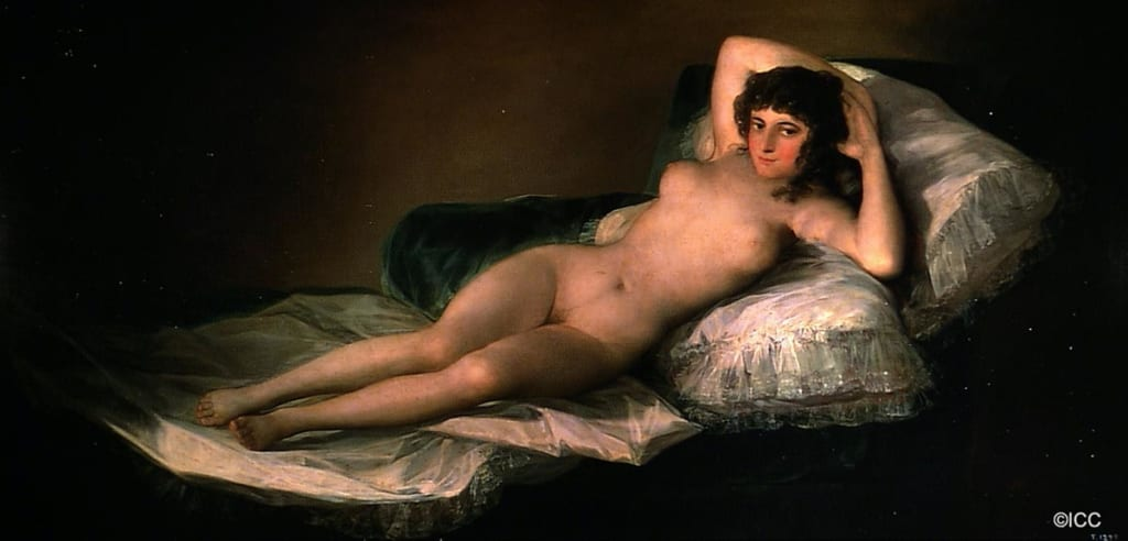 「裸のマハ」ゴヤ(フランシスコ・デ・ゴヤ・イ・ルシエンテス)