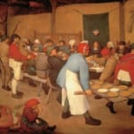 「農民の結婚式」 ピーテル・ブリューゲル(父)