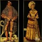 「ザクセンのハインリヒ敬虔公夫妻」 ルーカス・クラーナハ(父)