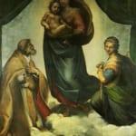 「システィーナのマドンナ」 ラファエロ・サンティ