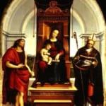 「アンシデイ家の聖母」 ラファエロ・サンティ